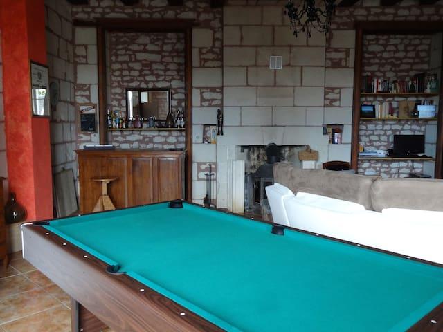 2 Chambres proche de La Roche Posay - Coussay-les-Bois - Casa
