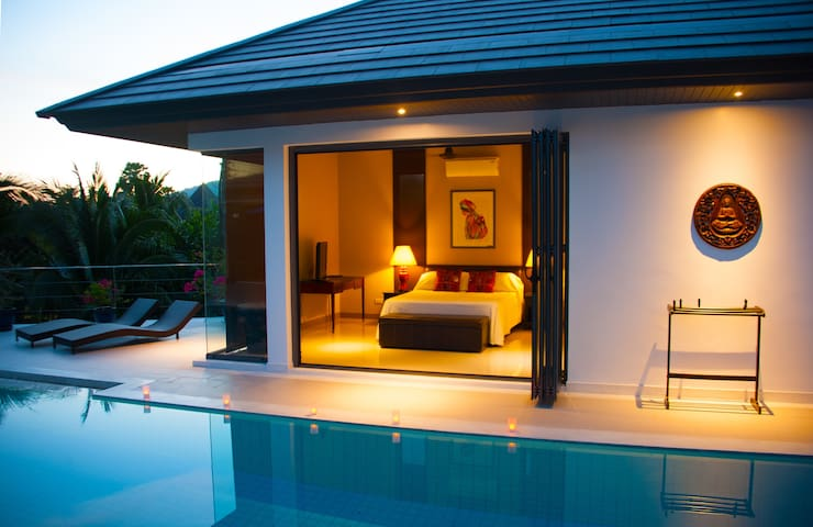 Guest bungalow in Luxury Pool Villa - Rawai - (ukendt)
