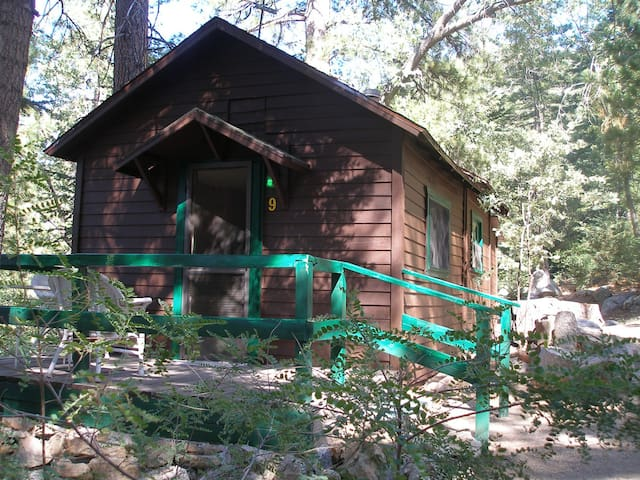 Cabin #9  For Two Guests - Angelus Oaks - Stuga