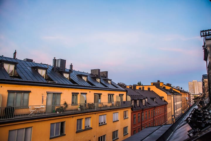 Lux penthouse stay: shopping, nightlife & old town - Stokholm - Daire