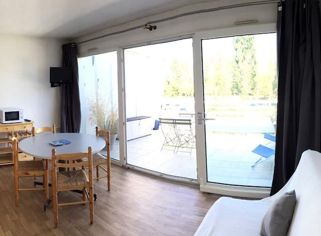 Studio au Port Dienville - Dienville - Apartamento