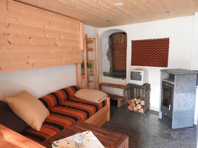 Charmant studio Val d'Anniviers, Valais - Ayer - Daire