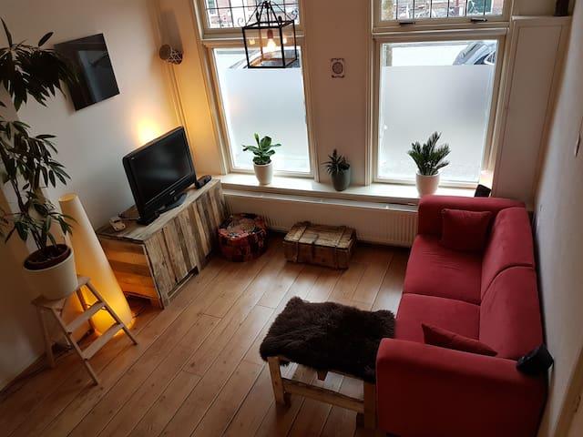 Marvellous sailor's home with garden - Groningen - Hus
