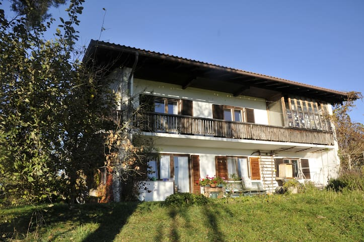 Holiday apartment on an organic farm - Chieming - Appartement