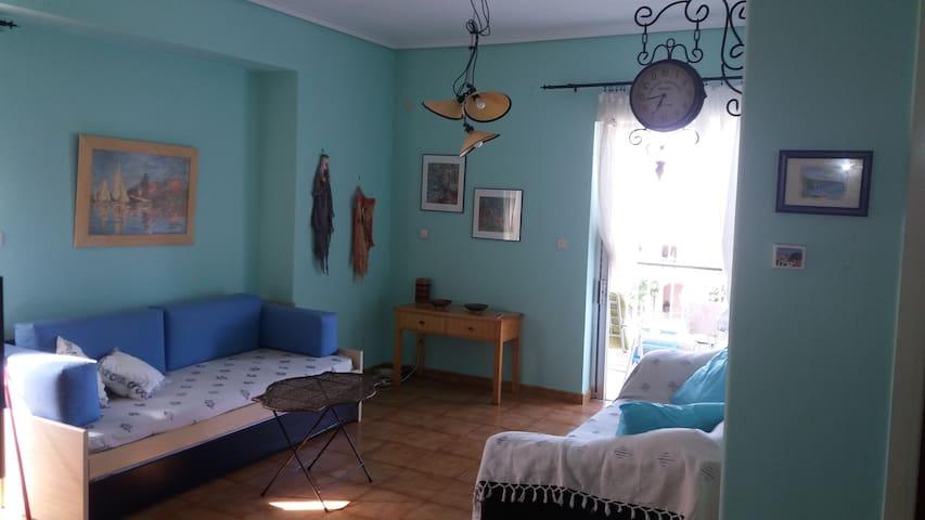 Cozy Apartment, Center Platamon. - Platamon - Leilighet