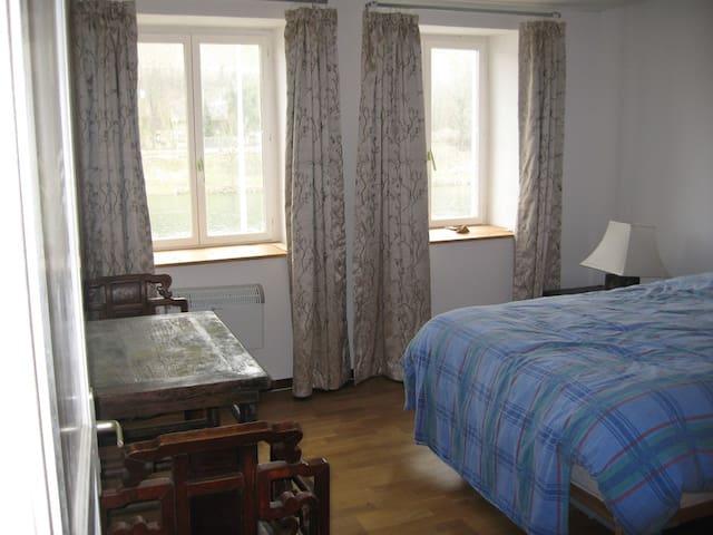 Double room overlooking the Mosel - Wormeldange - 獨棟
