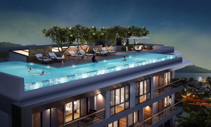 Sea view apartment in Patong Phuket - Patong - Lejlighed