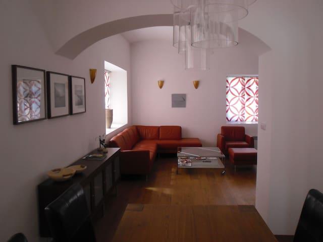 Very luxurious 4-8 person apartment - Mladé Buky - Leilighet