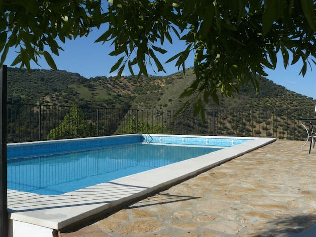 Rural house with stunning views and private views - Algarinejo - Villa