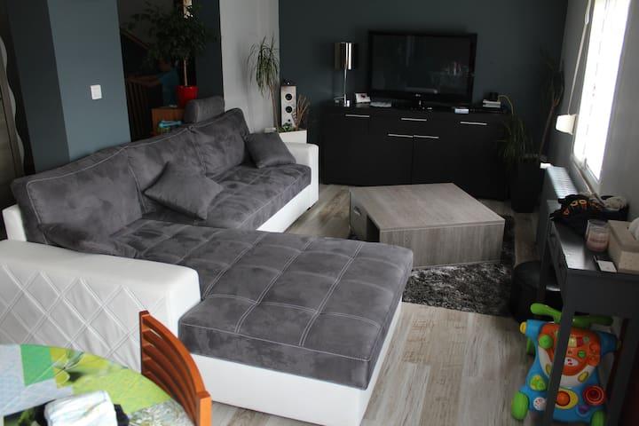 location semaine  au calme - Conflans-en-Jarnisy - Huis