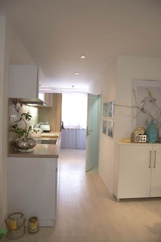Cool studio apartment with garden - Brno - Appartement