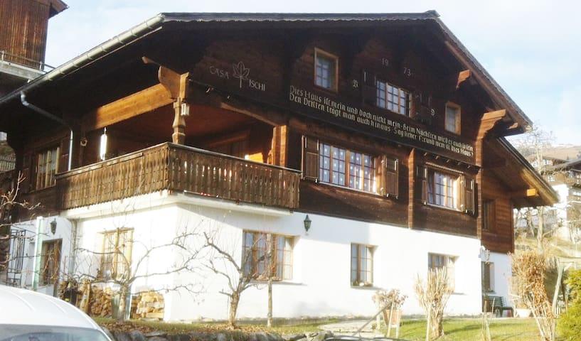 Sunny flat in Waltensburg/Vuorz - Waltensburg - Leilighet