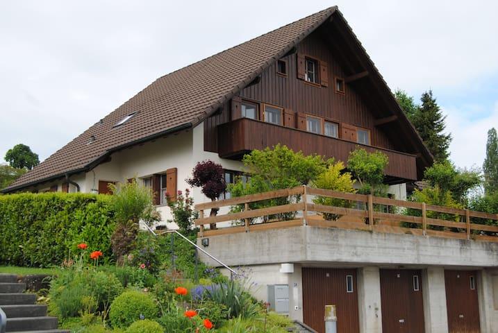 sonnige, helle 2 Zimmerwohnung - Ruswil - Leilighet