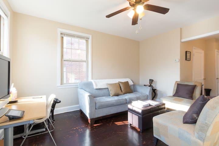Cozy apartment, easy access to downtown DC. - Washington - Huoneisto