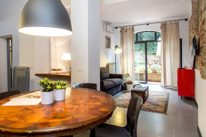 Tuscan Apt in the heart of Florence - 佛羅倫斯 - 公寓