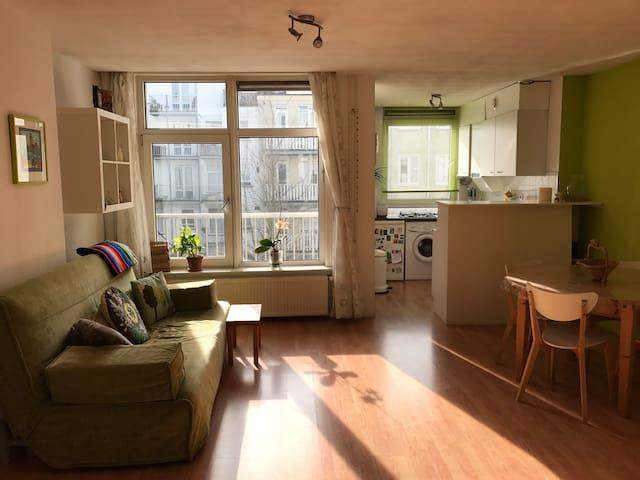 Bright apartment in Oud-West - Ámsterdam - Departamento