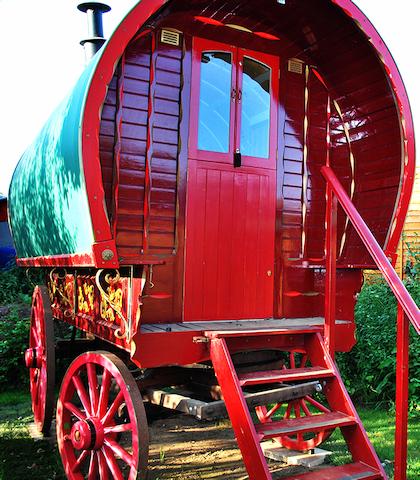 Gypsy Caravan rentals - Martlesham