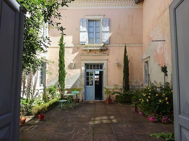 Suite privative dans une belle villa des Landes - Montaut - Pension