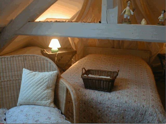 chambre Poulailler pour 4 personnes - Faverges-de-la-Tour - Huis