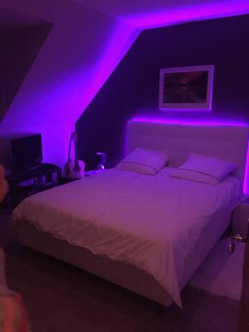 Chambre privative 15 minutes Dijon Centre - Sennecey-lès-Dijon