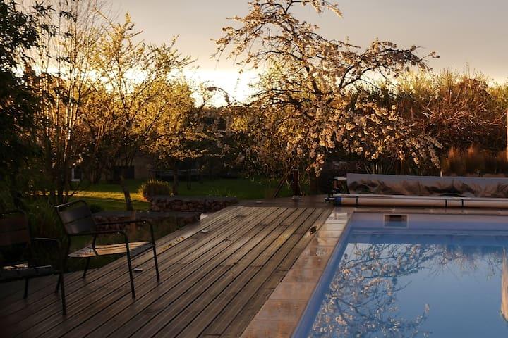 Spacieuse villa en Bourgogne - Saint-Seine-en-Bâche - Ev