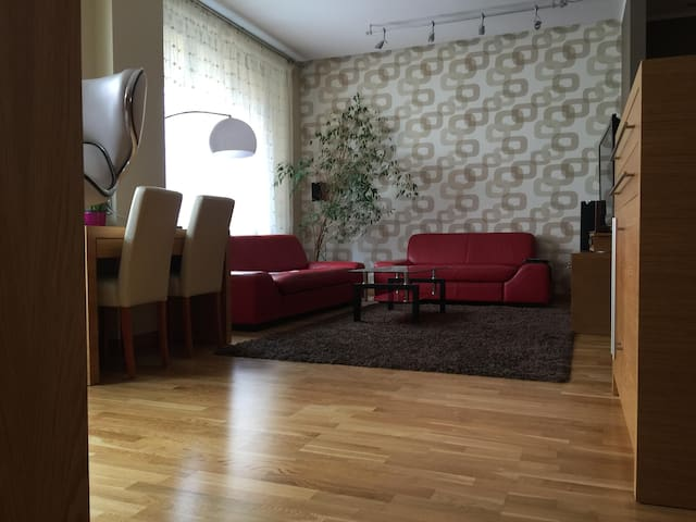 Modern apartment in the city center - Olsztyn - Daire