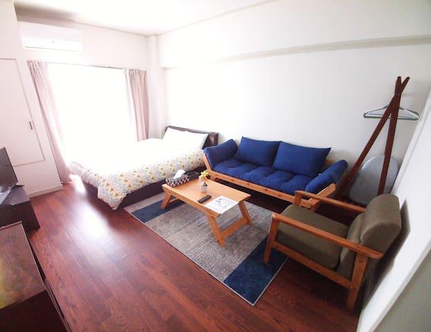 Close to Okayama Stn and Downtown!! - Okayama-shi - Apartament