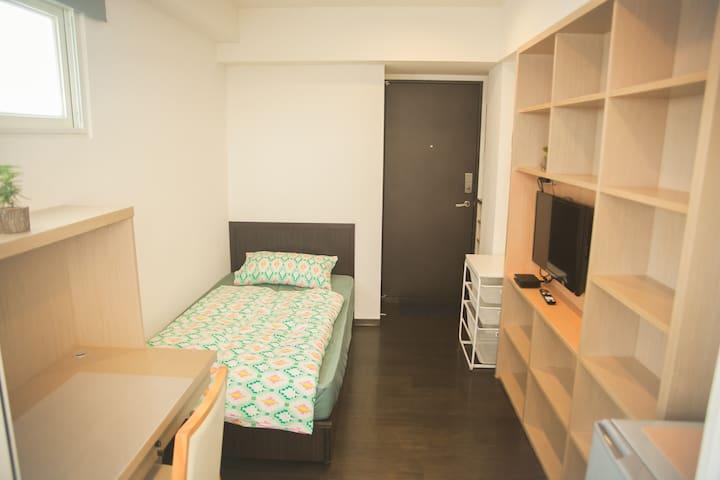 鄰近寧夏夜市 迪化街電梯溫馨房704 - Datong District - Apartemen
