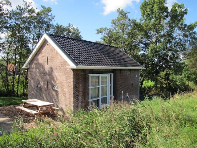 Old Toll House near Dokkum and Wadden Sea - Driezum - Rumah