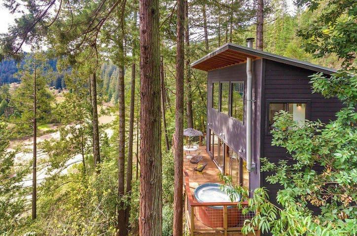 Stunning views, modern masterpiece! - Guerneville - Huis