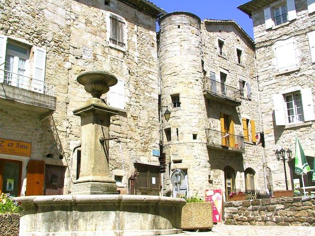 Havre de paix au cœur Parc Naturel Monts Ardèche - Rocles - Hus