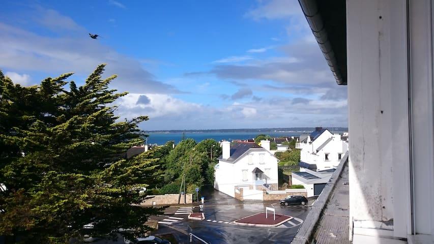 Agréable T2 centre Concarneau, vue mer et ville - 孔卡爾諾(Concarneau) - 公寓