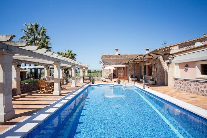 Preciosa Villa de Vacaciones Lovely Holiday Villa - Algaida - Villa