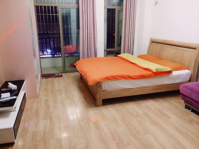博士后精致大床房 - Fuzhou - Appartement