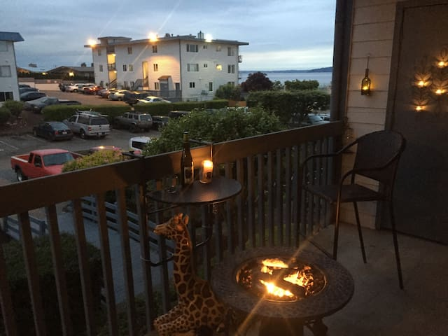 Lovely One Bedroom condo nested on the beach. - Seattle - Apto. en complejo residencial