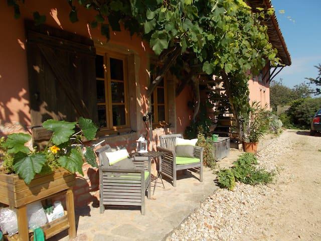 CHAMBRE D HOTES LA CASSINETTE - Romenay - Гостевой дом
