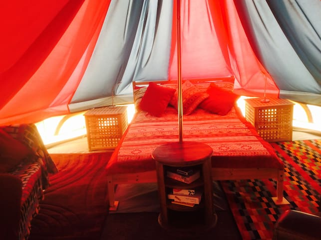 Luxury Glamping Bell Tent - English Frankton - Namiot