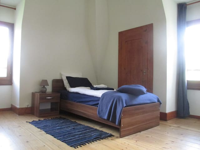 Quiet Single Room in Traditional Swiss Villa - Lavey-Morcles - Villa