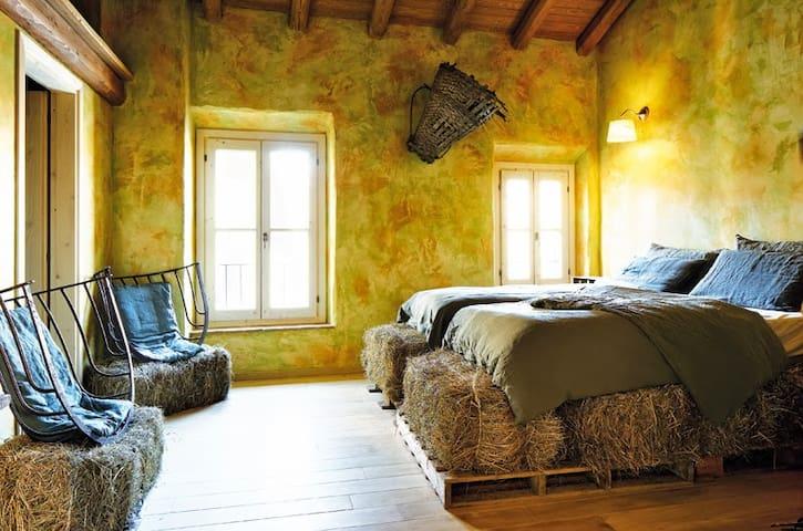 Galbusera Bianca - Stanza del Fieno - Rovagnate - Bed & Breakfast