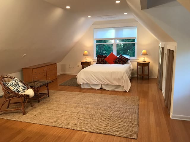 Spacious Studio in Nature Yet Convenient to DC - Harwood - Appartement