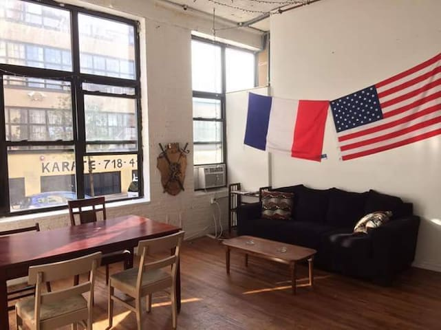 1 bedroom great place 15min to heart of Manhattan - Nueva York - Loft