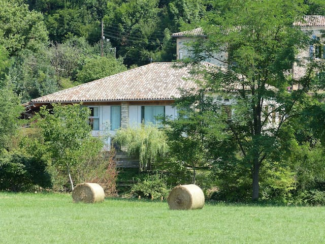 large house spacious and quiet - Mancioux - Villa