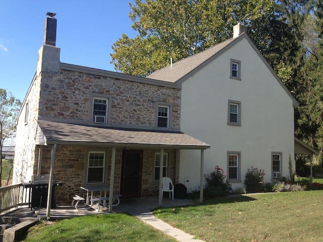 Historic Lancaster, PA Farmhouse - Narvon - Maison