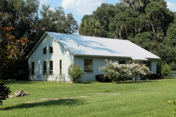 Beautiful Cottage on Horse Farm - Micanopy - Huis