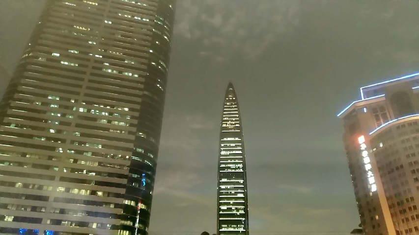 shenzhen罗湖东门地王京基大剧院新装精品单身公寓(罗湖金融中心) - Shenzhen - Apartmen