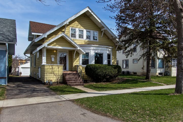 Beautiful Duplex home 5 minute walk to Mayo Clinic - Rochester - Huoneisto
