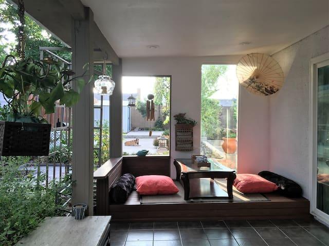 A cozy home with beautiful backyard - 庫卡蒙格牧場(Rancho Cucamonga)
