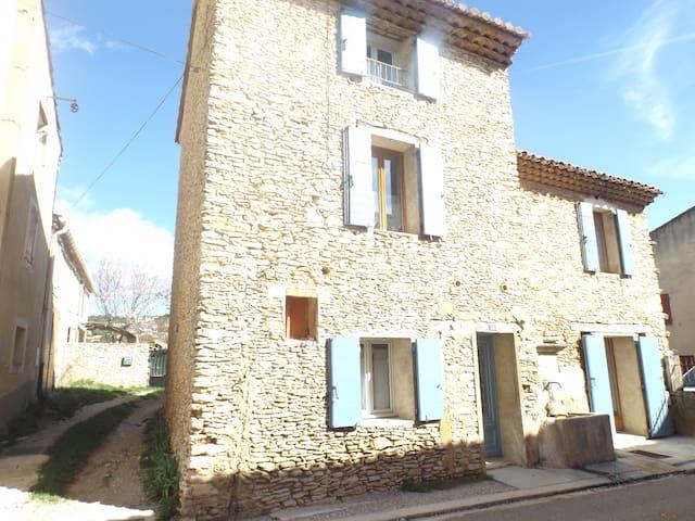 La maison à la Fontaine des Escairades - Villes-sur-Auzon - Huis