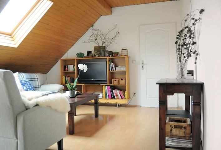 Beautiful attic room - Praag - Huis