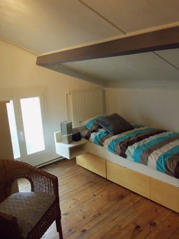 chambre tres bien située à Mont de Marsan - Mont-de-Marsan - Ev